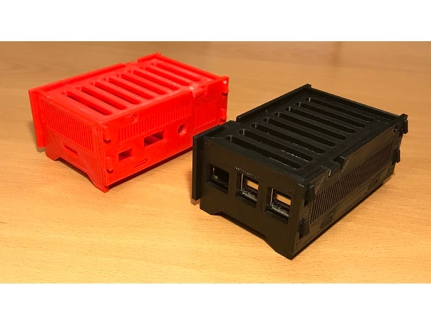 Raspberry Pi Hüllen aus 3D Drucker