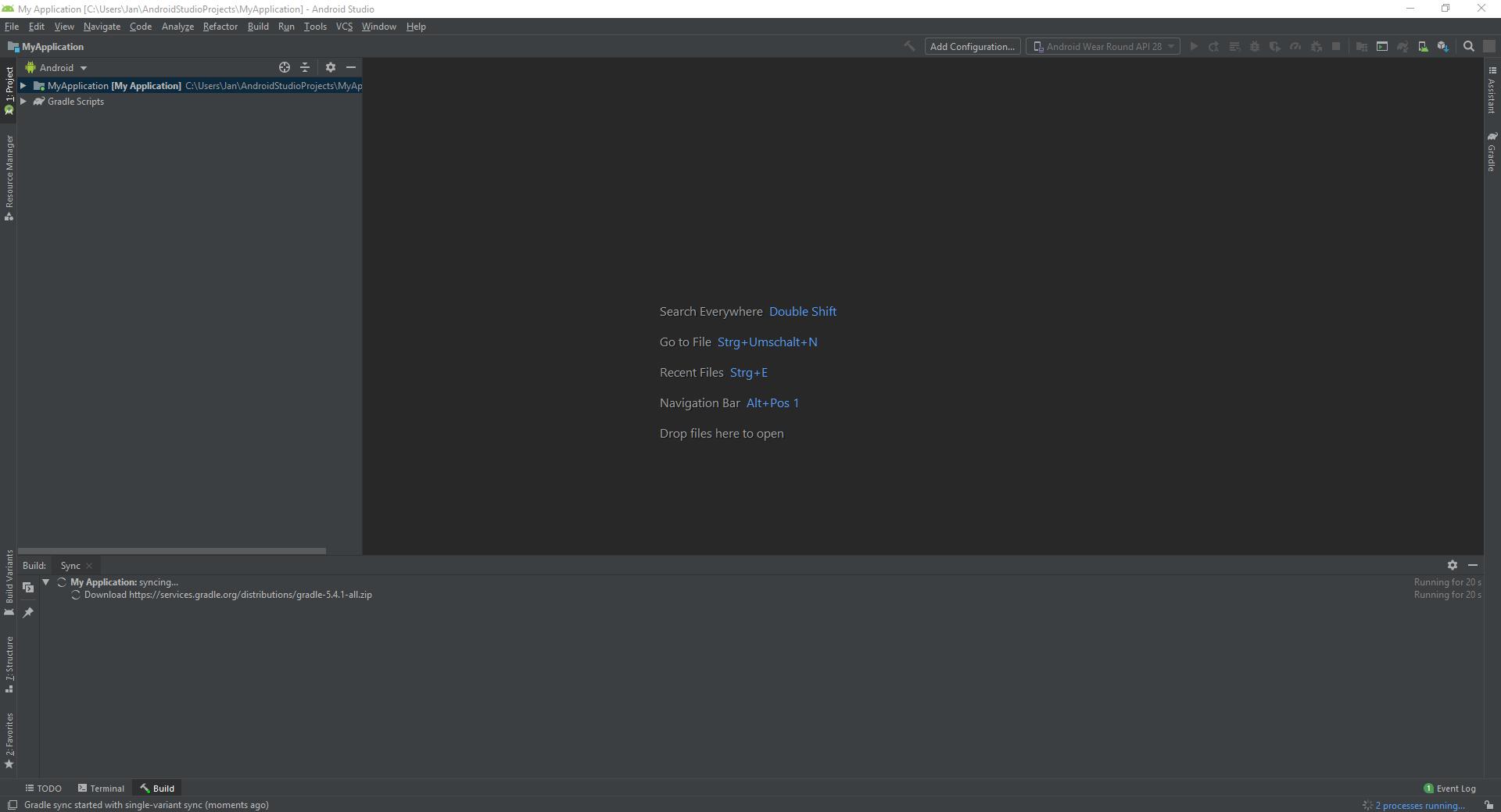 Android Studio installieren