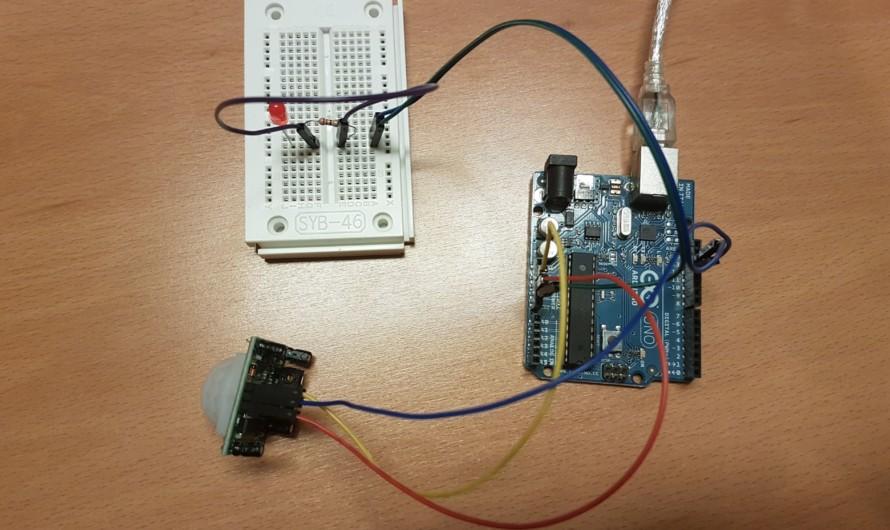 PIR Sensor am Arduino betreiben