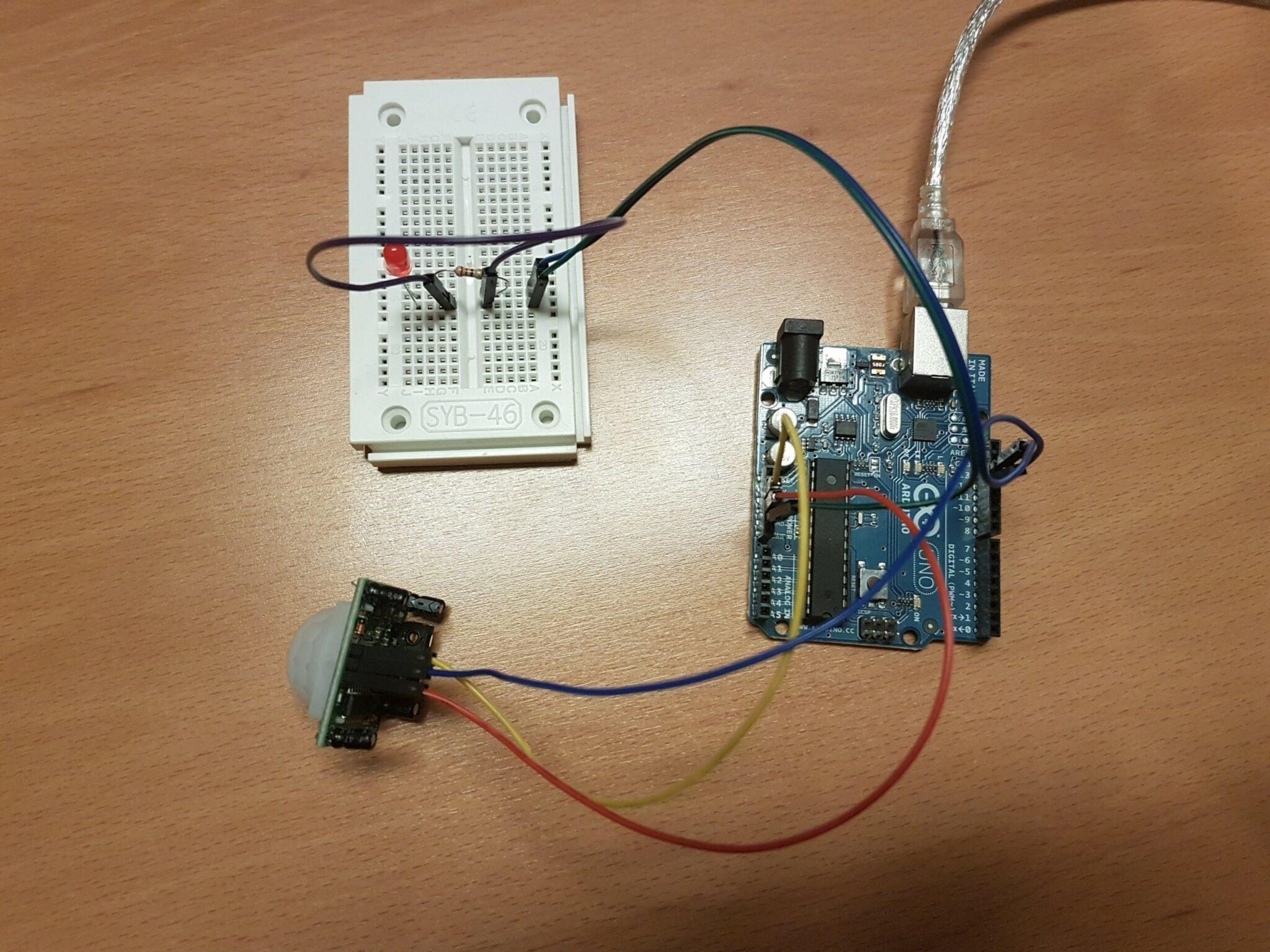 Read more about the article PIR Sensor am Arduino betreiben