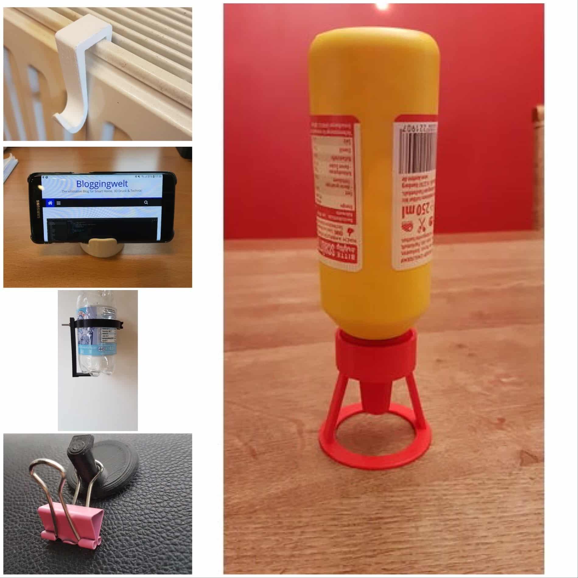 5 praktische Gadgets aus dem 3D Drucker Teil 2