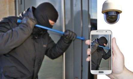 Einbruchsversuch mit smarter Überwachungskamera